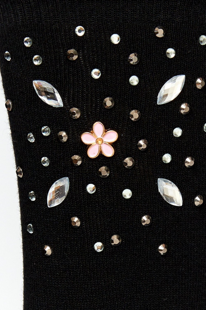 Носочки со стразами Annes SKARPETKI WZ14