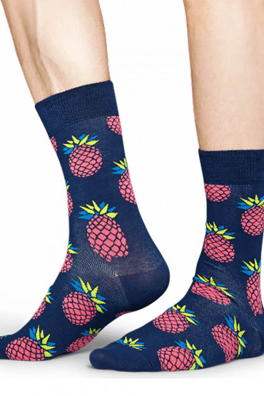 Фото Носки хлопковые с принтом Happy Socks Pineapple Socks