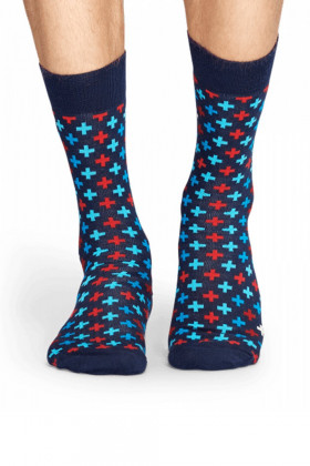 Фото Носки хлопковые с принтом Happy Socks Plus Sock PLU01-6000