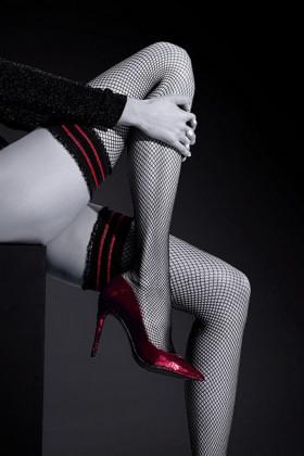 Фото Чулки в сетку Knittex Moulin Rogue