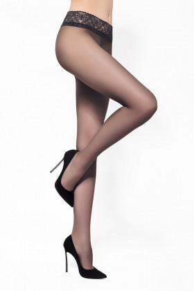 Колготки с кружевным поясом LEGS 2620 ЭСКИЗ 26 - 20