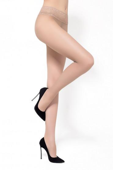Фото Колготки с кружевным поясом LEGS 2620 ЭСКИЗ 26 - 20