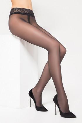 Колготки с кружевным поясом LEGS 2640 ЭСКИЗ 26 40 den
