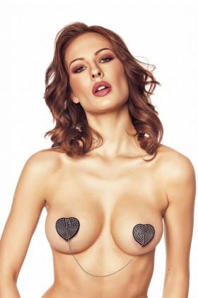 Фото Накладки на грудь с цепочкой Anais Orsi