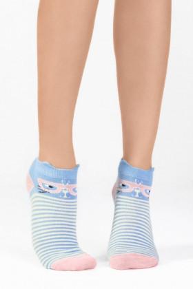 Фото Носки женские с рисунком Legs 62 SOCKS LOW (3 шт)