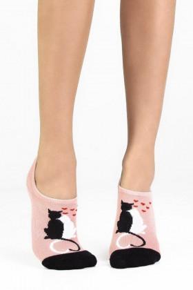 Фото Набор носков с котами Legs 10 SOCKS EXTRA LOW (2 пары)