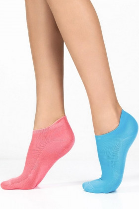 Фото Набор низких носков Legs 15 SOCKS LOW TACTEL (2 пары)