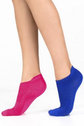 Фото Набор однотонных носков Legs 15 SOCKS LOW TACTEL (2 пары)