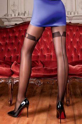 Фото Колготки со стрелкой сзади GIULIA Adriana 20 model 2