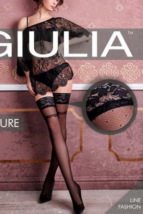 Фото Чулки c кружевом GIULIA Allure 20 model 18
