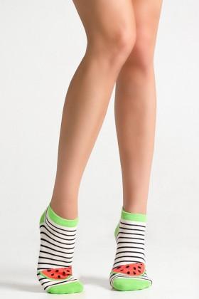 Фото Носки женские с рисунком Legs 64 SOCKS LOW (3 шт)