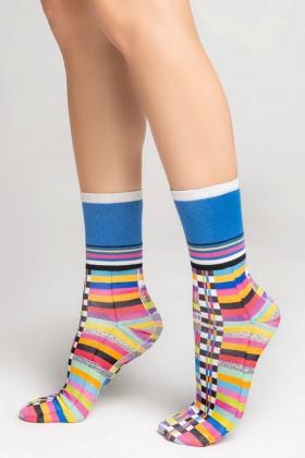 Фото Носки цветные хлопковые Legs L1435 COTTON PRINT