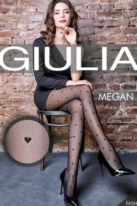 Фото Колготки в сердечки GIULIA Megan 40 model 1