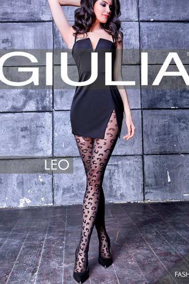 Фото Колготки с леопардовым принтом Giulia LEO 01