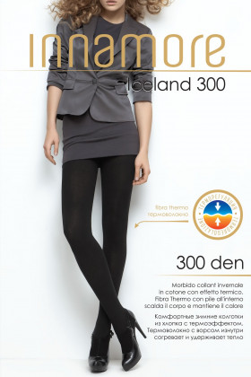 Фото Теплые термо колготки Innamore Iceland 300 den