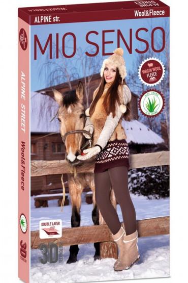 Фото Колготки теплые с шерстью Mio Senso Alpine (пакет)