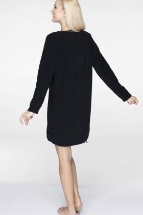 Фото Теплое домашнее платье с принтом Key LHD 742 B19