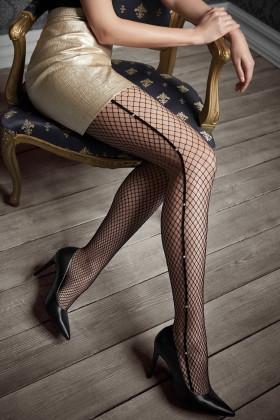 Фото Колготки в сетку с кристаллами Marilyn GUCCI G46