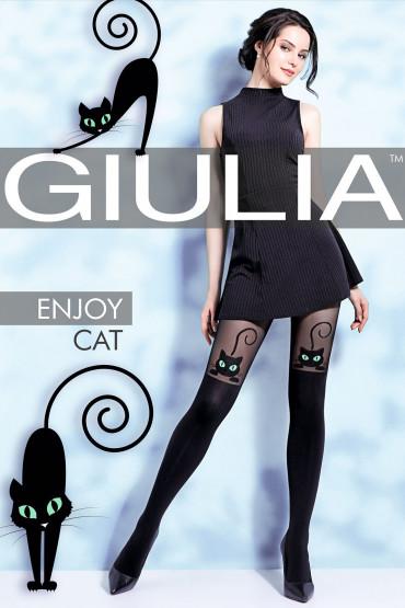 Фото Колготки с имитацией чулок Giulia ENJOY CAT