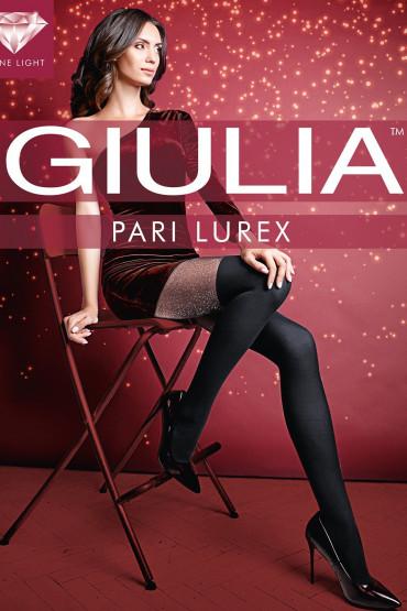 Фото Колготки с имитацией чулок Giulia PARI LUREX 01