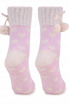 Фото Теплые носки с антискользящей стопой MARILYN COOZY N65 ABS