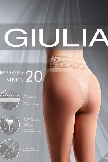 Фото Колготки корректирующие Giulia IMPRESSO STRING 20