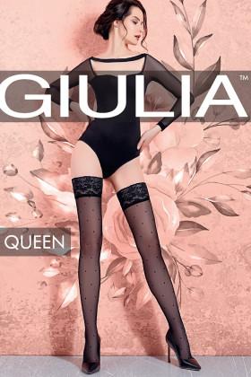 Чулки в горошек GIULIA Queen 20 model 1