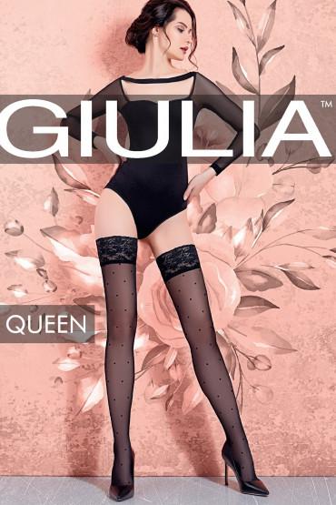 Фото Чулки в горошек GIULIA Queen 20 model 1