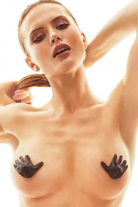 Фото Накладки на грудь в виде ладошки Anais Xylo