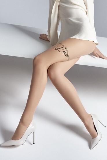 Фото Колготки с надписями Marilyn EMMY S09 20 den