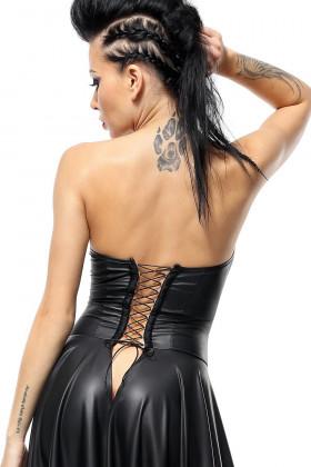 Платье под кожу с открытой грудью Demoniq Jasmin