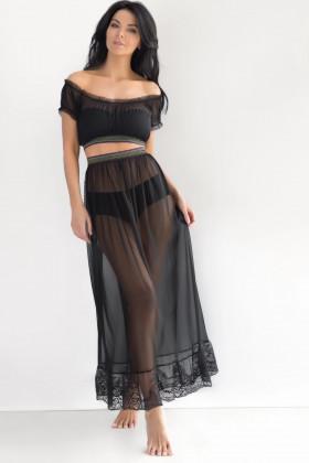 Фото Длинная прозрачная юбка Kleo 2571 So Sexy Dance