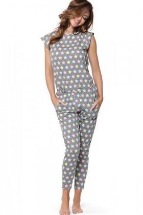 Пижама хлопковая со звездочками Pigeon P-585/1