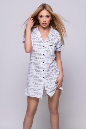 Фото Платье-рубашка с принтом Sensis Eupforia