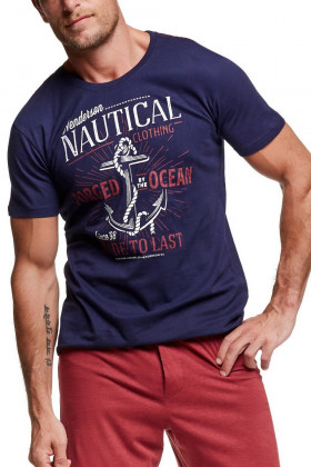 Фото Мужской комплект с шортами Henderson 37301 Wave