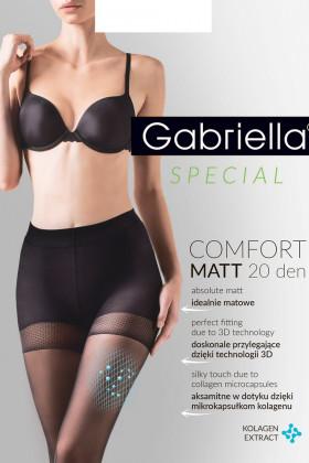 Фото Колготки с уплотненными шортиками Gabriella Comfort Matt 20