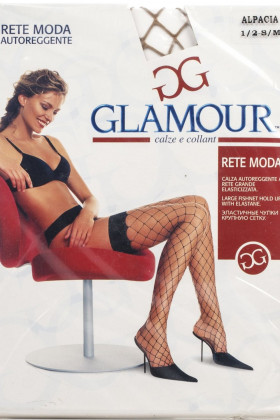 Фото Чулки в крупную сетку Glamour Rete Moda