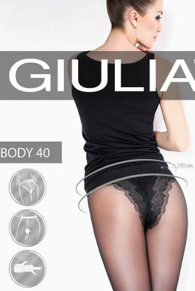 Фото Колготки с корректирующими трусиками Giulia Body 40