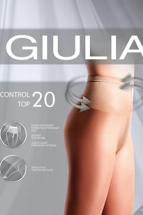 Фото Колготки с утягивающим поясом Giulia CONTROL TOP 20