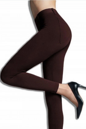 Плотные брюки-леггинсы с карманами Gatta Next Caffe