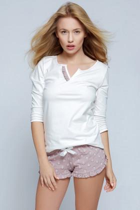 Фото Пижама с шортами хлопковая Sensis Lilian