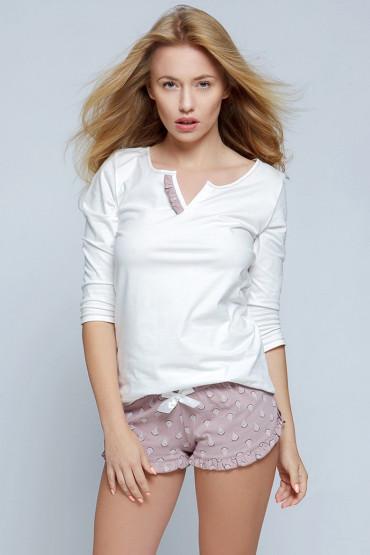 Пижама с шортами хлопковая Sensis Lilian