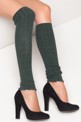 Гетры трикотажные Legs L1157 GHETTE VISCOSA RIGHE