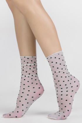 Фото Носочки прозрачные в горошек LEGS L1634 CALZINO POIS