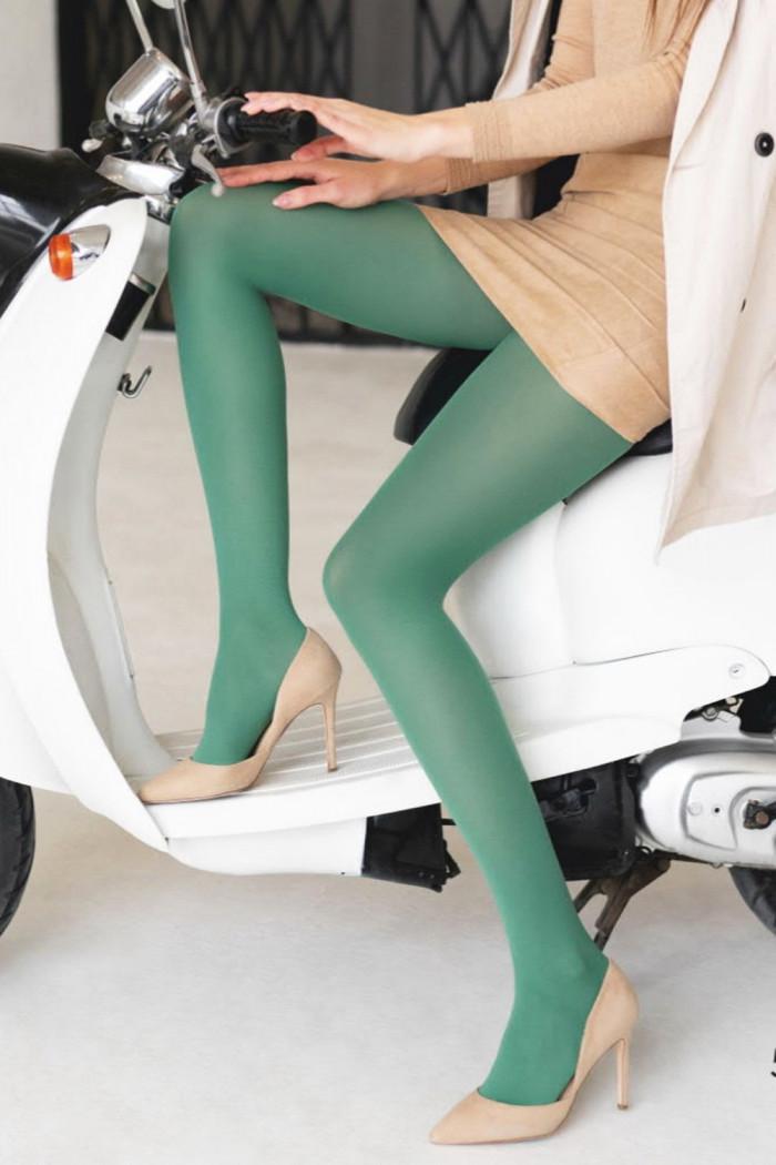 Колготки кольорові непрозорі Legs 500 Tetti Colour 40