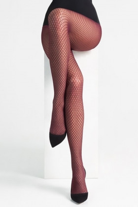 Фото Колготки с имитацией сетки LEGS L1310 RETE CHIUSA