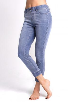 Джеггинсы женские LEGS L1453 LEGGINGS JEANS
