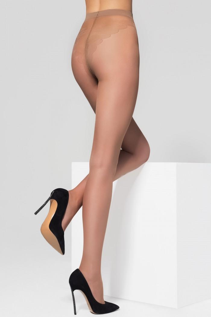 Колготки с ажурными трусиками Legs 263 BIKINI 40