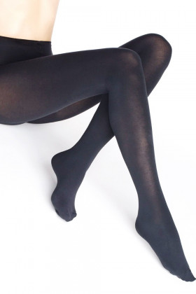 Теплые колготки с термо эффектом LEGS 615 VELOUR LUX 80d( 200d)