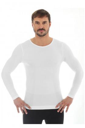 Футболка из шерсти мериноса Brubeck Comfort Wool LS11600